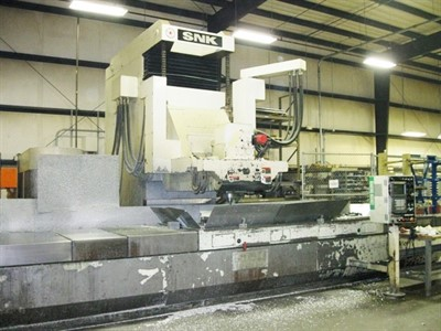 SNK FSP 120V CNC 5 AXIS VERTICAL MACHINING CENTER