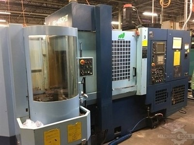 MATSUURA ES 450HII PC5 CNC 4-AXIS HORIZONTAL MACHINING CENTER