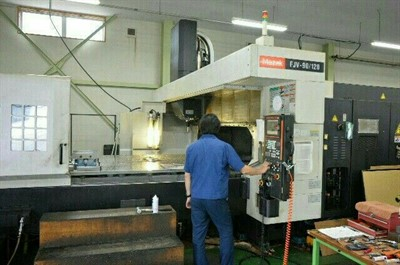 MAZAK FJV 90/120 CNC VERTICAL MACHINING CENTER