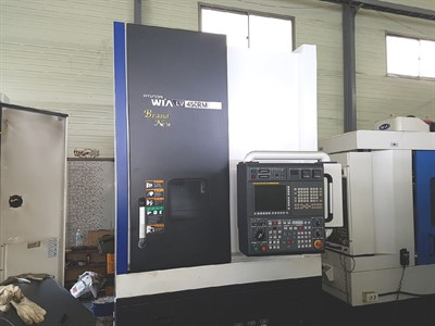 HYUNDAI WIA LV 450RM  VERTICAL MILLING AND TURNING MACHINE