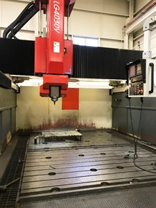AWEA LG 4030 CNC BRIDGE TYPE VERTICAL MACHINING CENTER