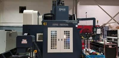 JOHNFORD DMC 1500H CNC 5 AXIS BRIDGE TYPE VERTICAL MACHINING CENTER