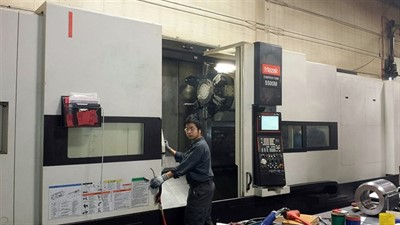 MAZAK CYBERTECH TURN 5500M/3000 CNC ''LARGE BORE'' TURN/MILL CENTER