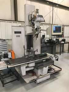 MILLTRONICS MB 20 CNC 3 AXIS VERTICAL KNEE MILL