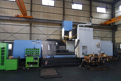 DOOSAN BM 2740M CNC BRIDGE TYPE VERTICAL MACHINING CENTER