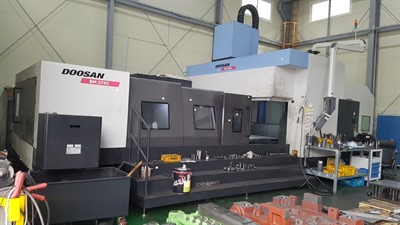 DOOSAN BM 2740 CNC BRIDGE TYPE  VERTICAL MACHINING CENTER