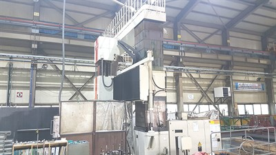 SNK RB-350F HIGH SPEED 5 AXIS CNC BRIDGE FRAME MACHINING CENTER