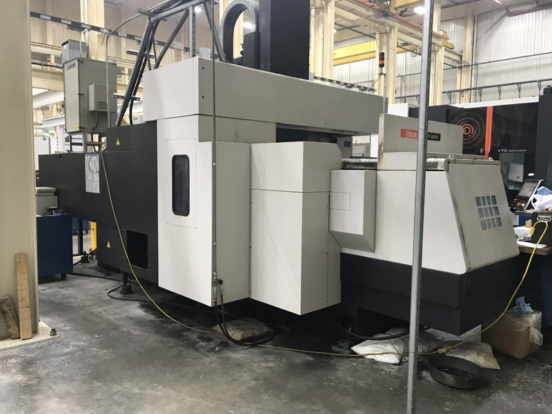 Used Mazak FJV35/60II Vertical Machining Centers for Sale (8060)